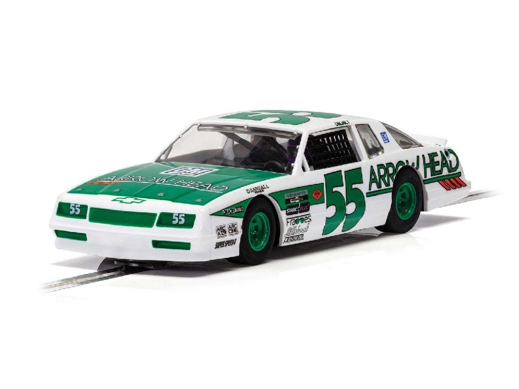 1/32 Autíčko Super Resistant SCALEXTRIC C4079 - Chevrolet Monte Carlo - Green and White No.55