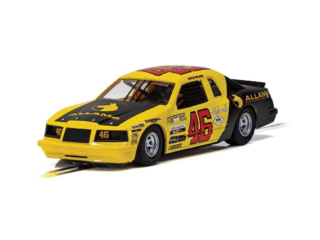 1/32 Autíčko Super Resistant SCALEXTRIC C4088 - Ford Thunderbird - Yellow and Black No.46