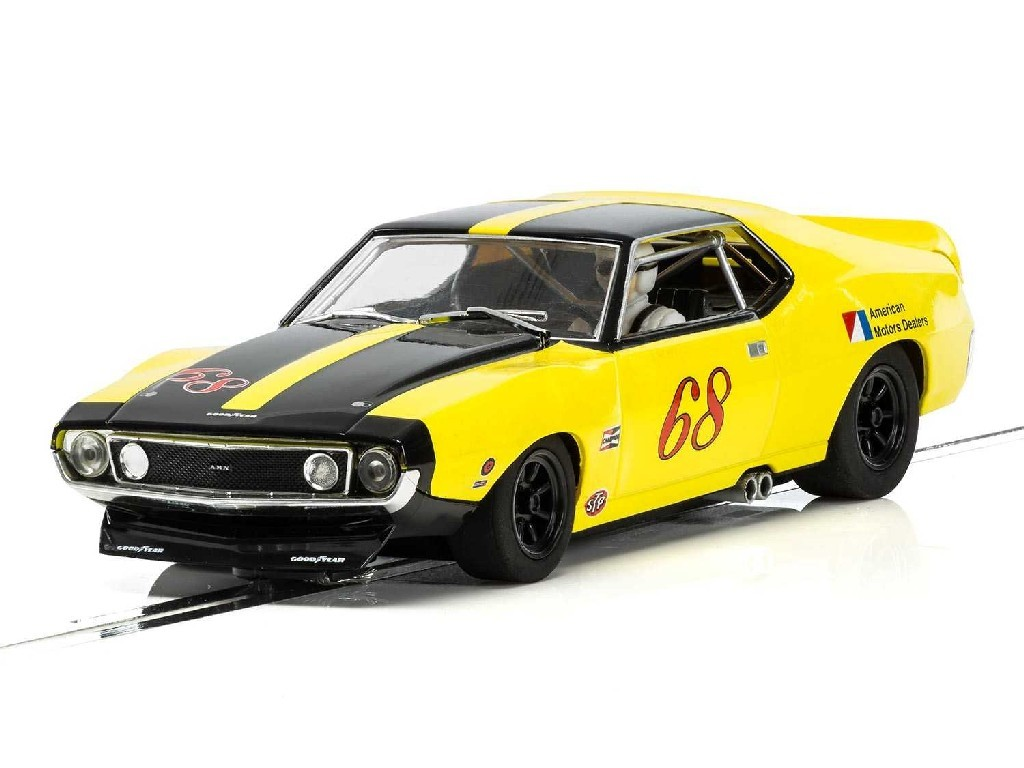 1/32 Autíčko Touring SCALEXTRIC C3921 - AMX Javelin Trans Am - Roy Woods 1971