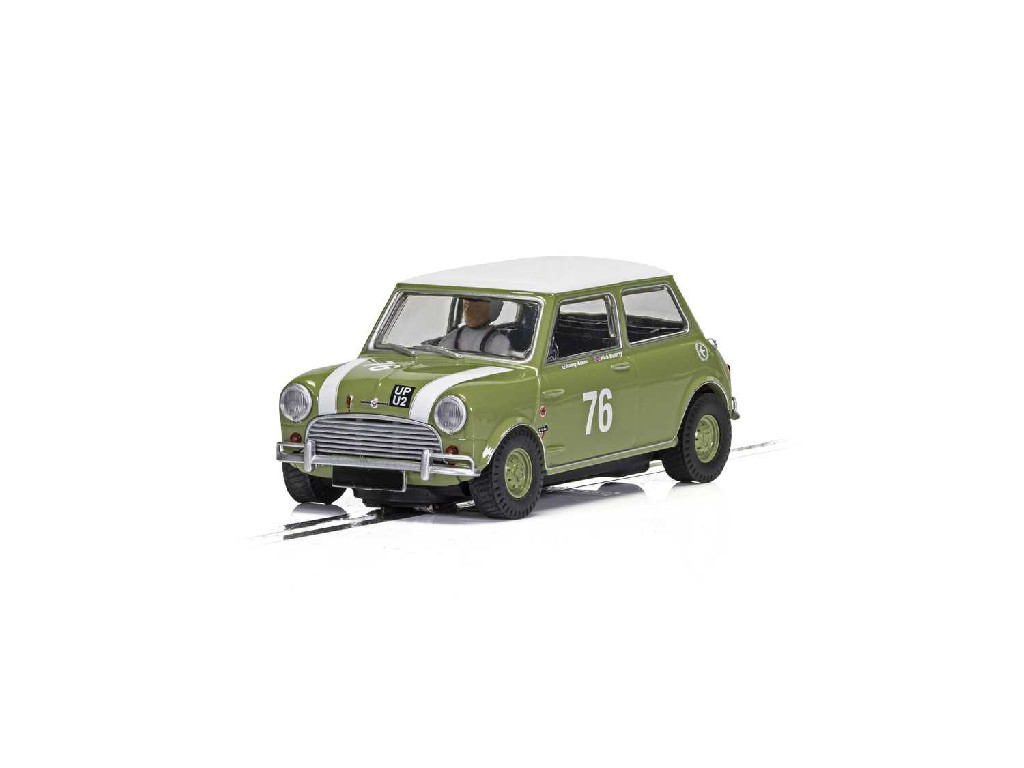 1/32 Autíčko Touring SCALEXTRIC C4059 - Austin Mini Cooper S - Goodwood 2018 - Johnny Adam, Nick Swift