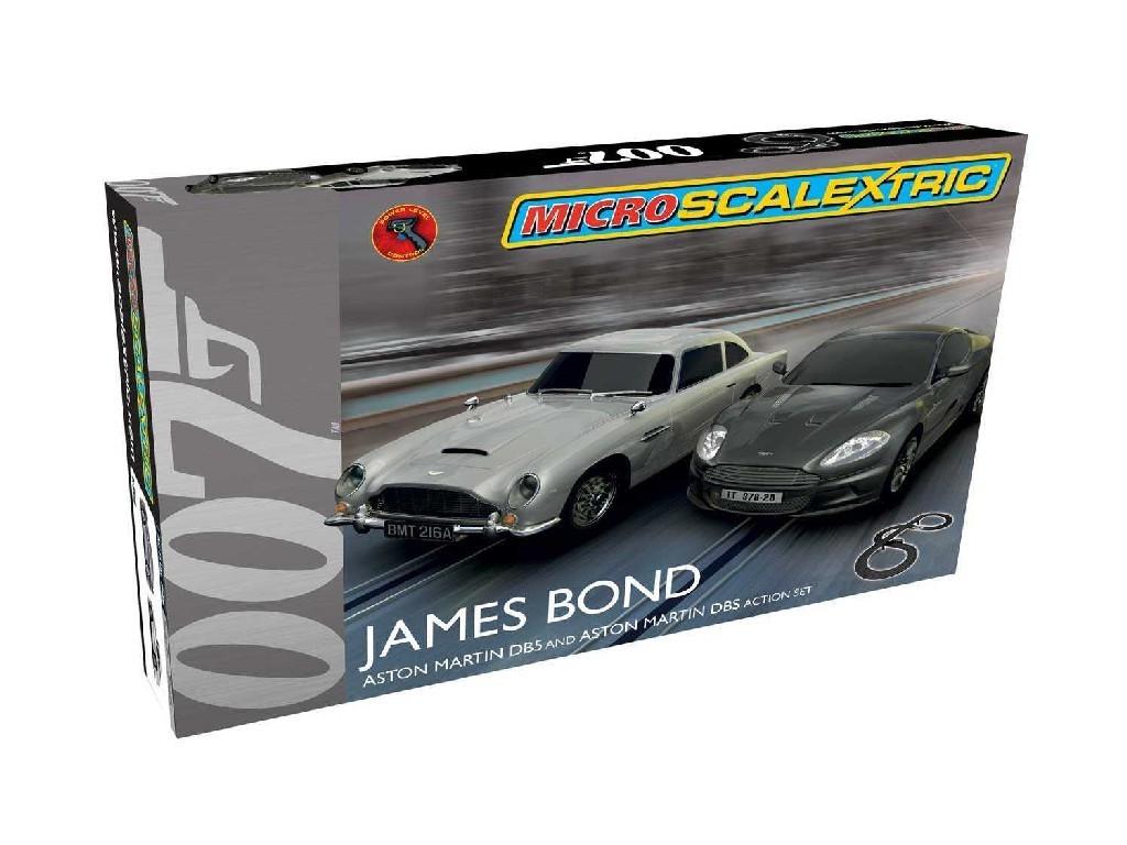 Autodráha Micro Scalextric G1122 - James Bond (1:64)