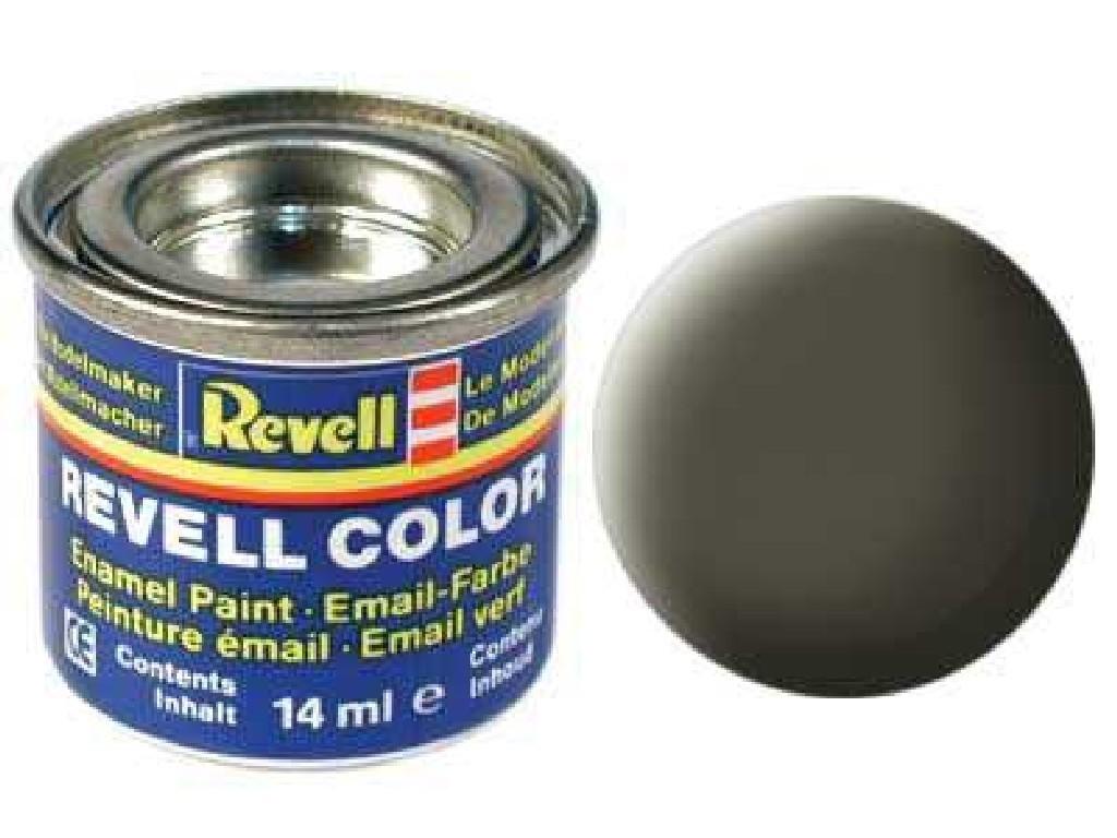 Barva Revell emailová - 32146: matná olivová NATO (nato olive mat)