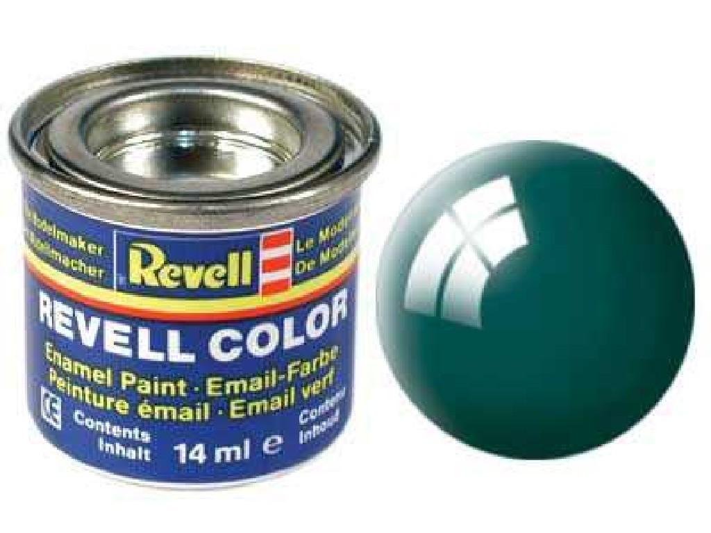 Barva Revell emailová - 32162: leská zelenomodrá (sea green gloss)
