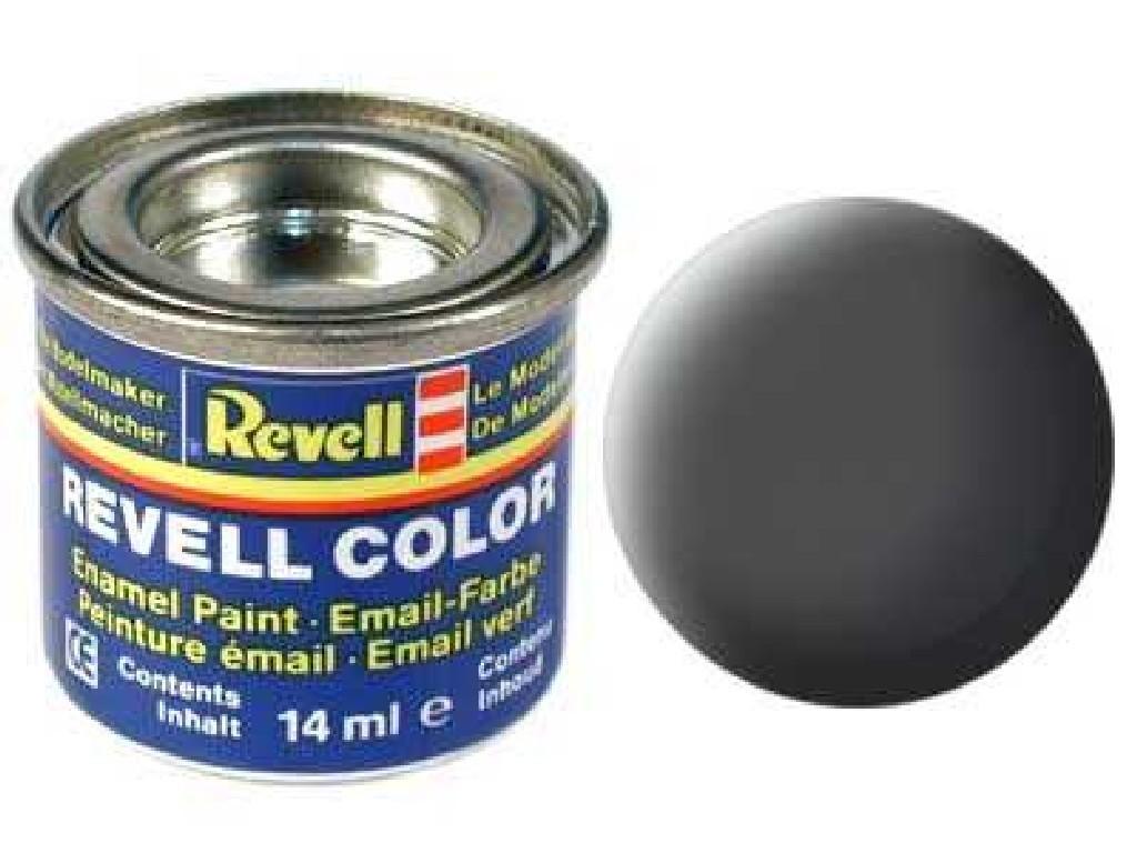 Barva Revell emailová - 32166: matná olivově šedá (olive grey mat)