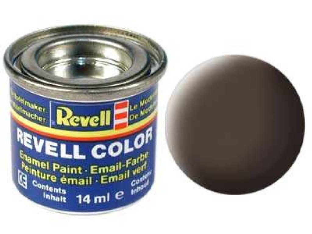 Barva Revell emailová - 32184: matná koženě hnědá (leather brown mat)