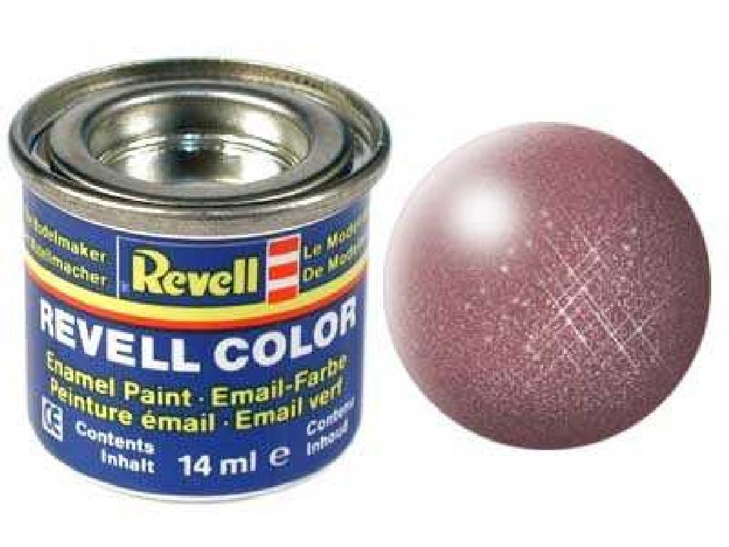 Barva Revell emailová - 32193: metalická měděná (copper metallic)