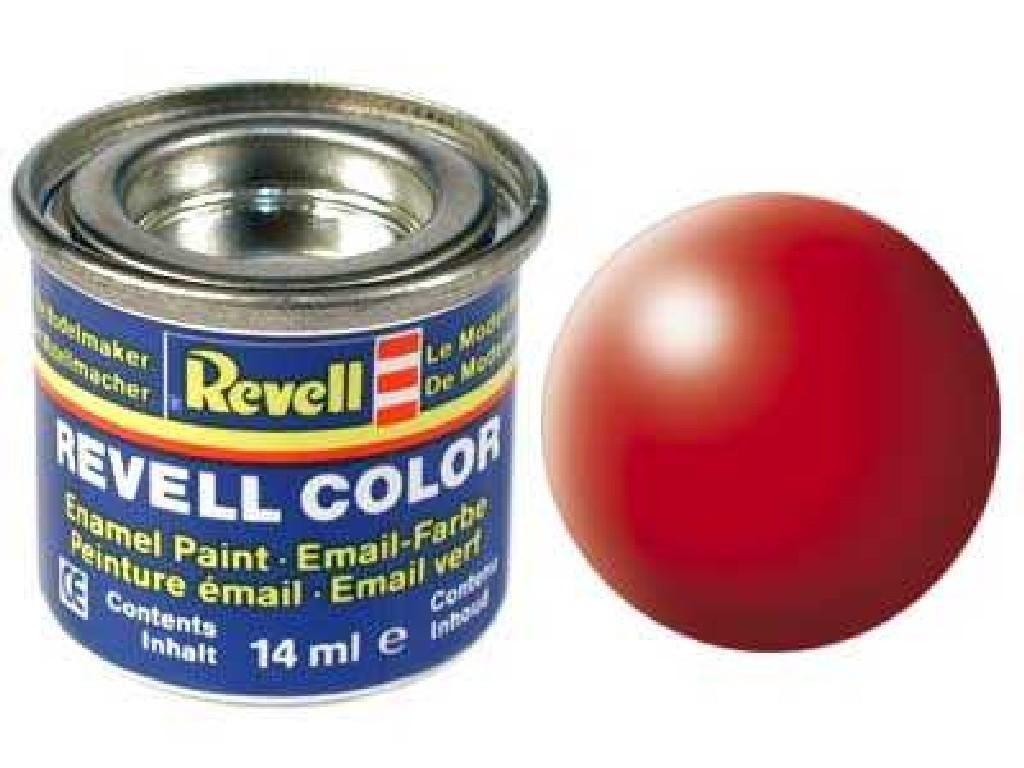 Barva Revell emailová - 32332: hedvábná světle červená (luminous red silk)