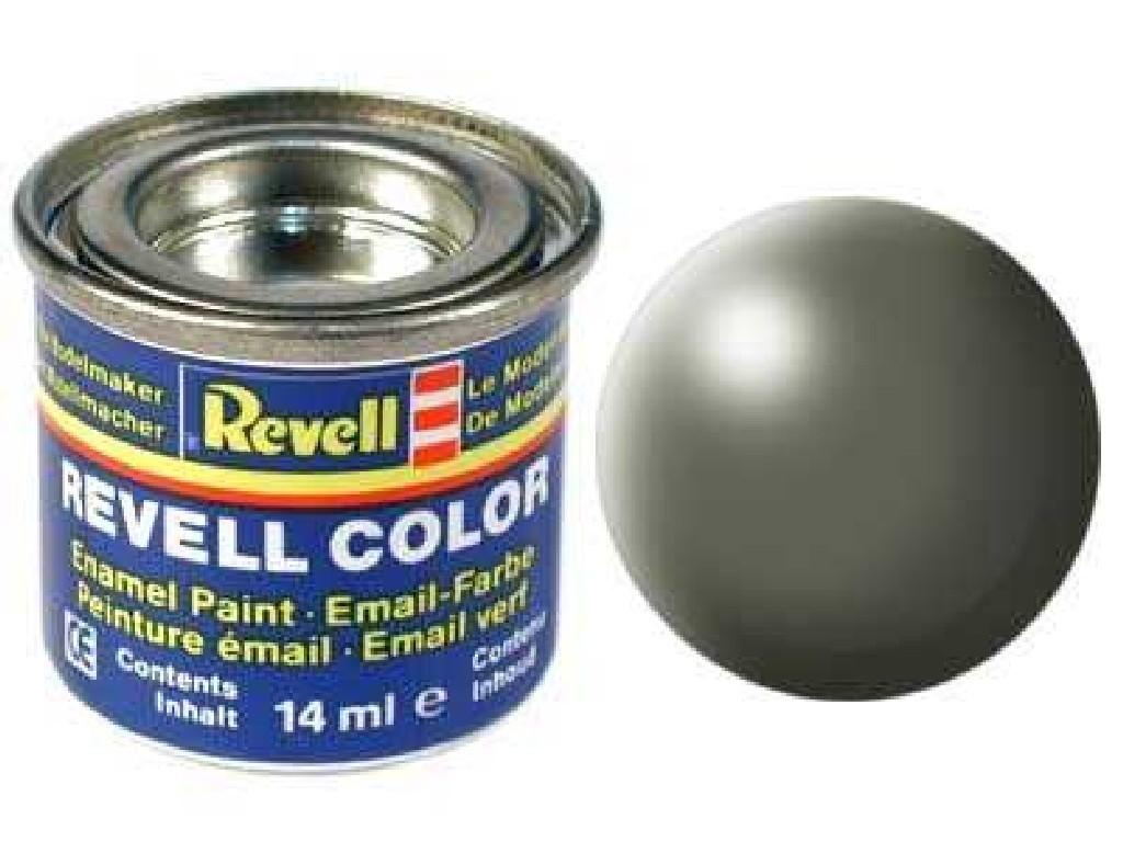 Barva Revell emailová - 32362: hedvábná šedavě zelená (greyish green silk)