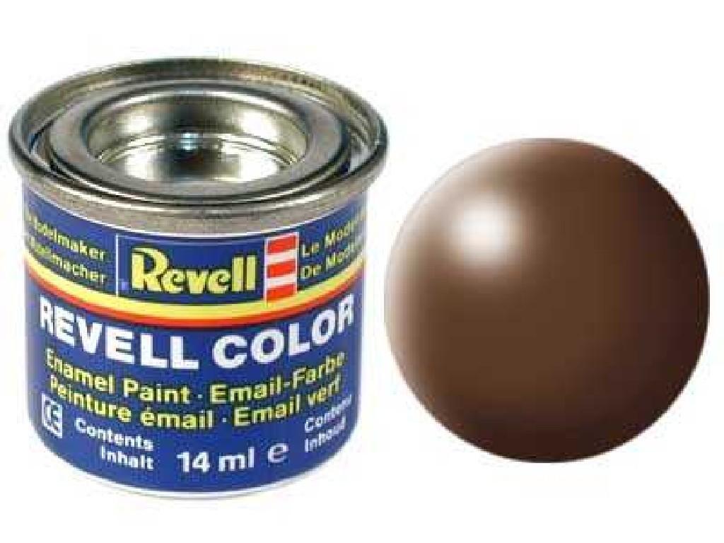 Barva Revell emailová - 32381: hedvábná hnědá (brown silk)