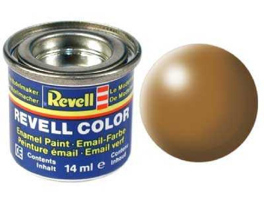 Barva Revell emailová - 32382: hedvábná lesní hnědá (wood brown silk)