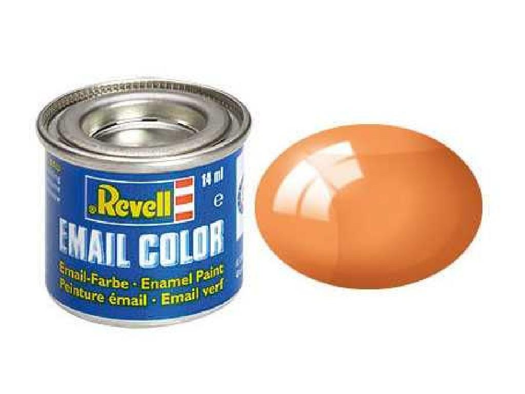 Revell - Barva emailová - 32730: transparentní oranžová (orange clear) 14ml