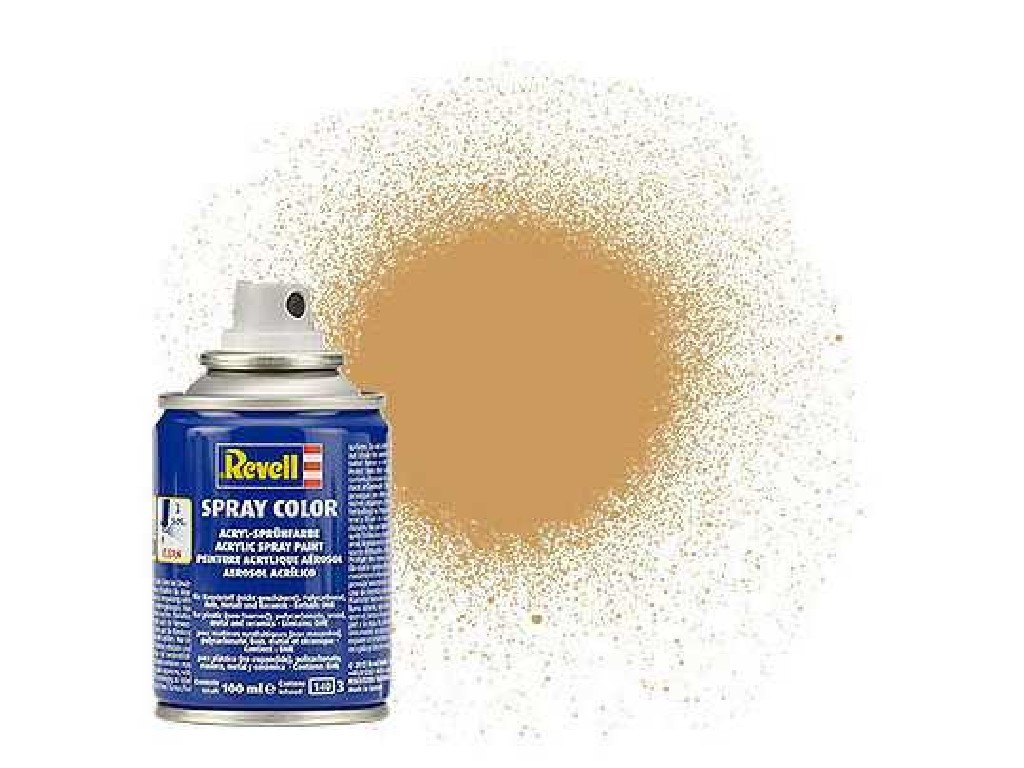 Barva Revell ve spreji - 34188: matná okrově hnědá (ochre brown mat)
