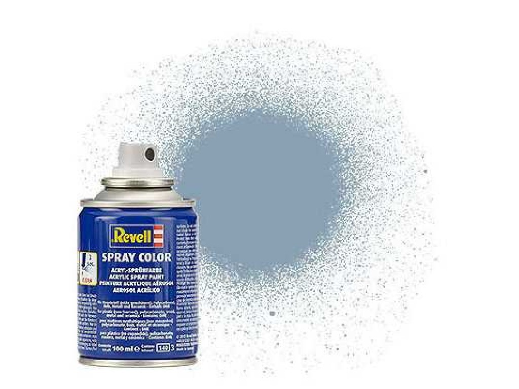 Barva Revell ve spreji - 34374: hedvábná šedá (grey silk)