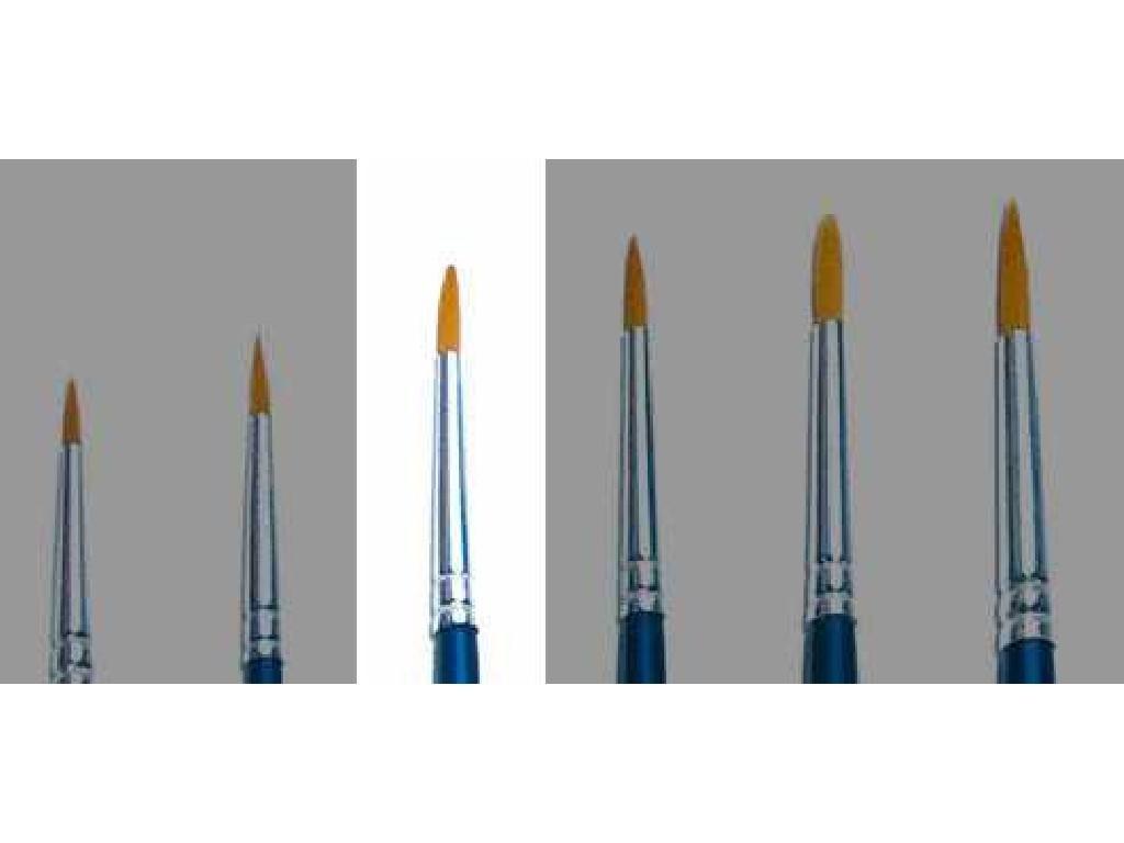 Brush Synthetic Round - SINGLE PACK 52203 - kulatý syntetický štětec (velikost 0)