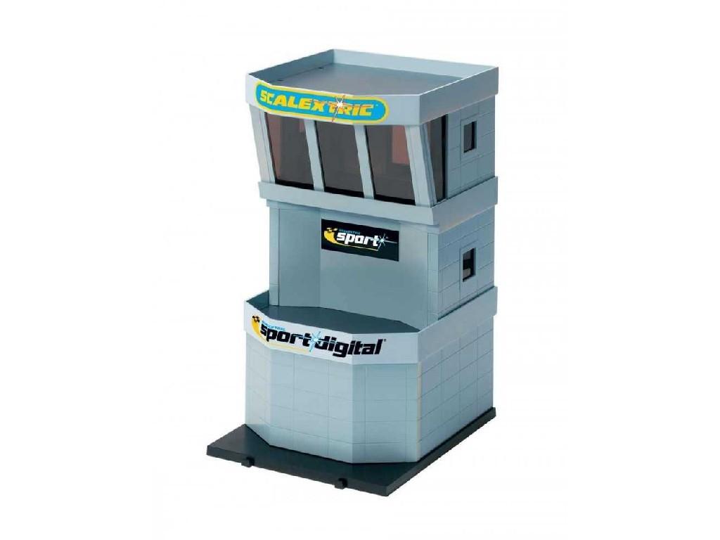 Budova Pro Autodráhu Scalextric C8319 - Control Tower Plastic