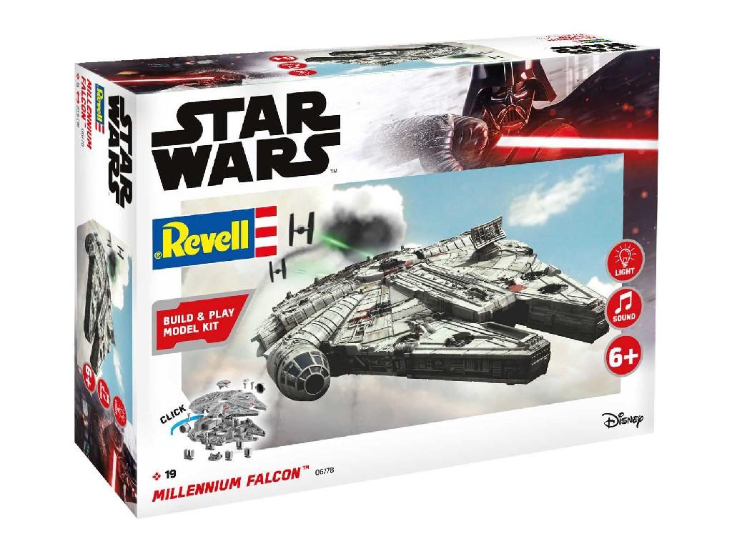 1/164 Build and Play SW 06778 - Millennium Falcon (světelné a zvukové efekty)