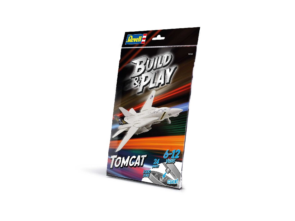 1/100 Build and Play letadlo 06450 - F-14A Tomcat