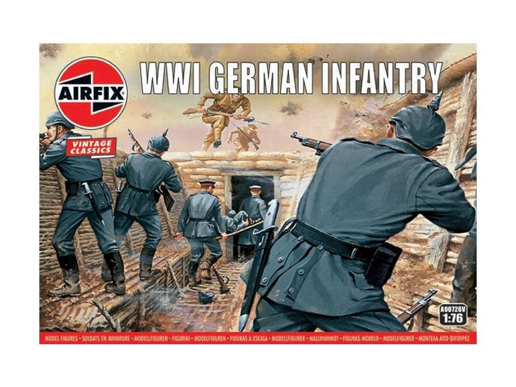 Airfix - A00726V - WW1 German Infantry 1:76
