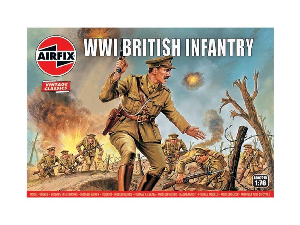 Airfix - A00727V - WW1 British Infantry 1:76