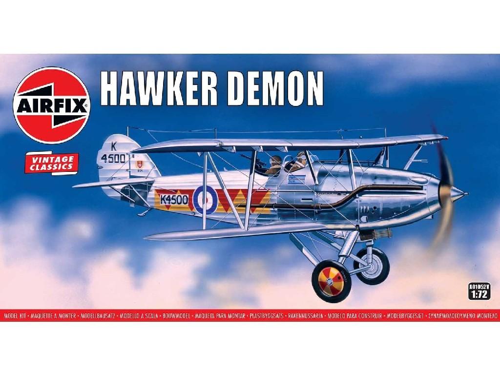 1/72 Classic Kit VINTAGE letadlo A01052V - Hawker Demon