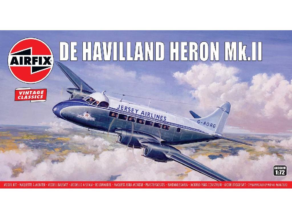 1/72 Plastikový model - letadlo A03001V - de Havilland Heron MkII