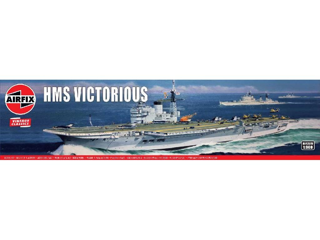 1/600 Plastikový model - VINTAGE loď A04201V - HMS Victorious