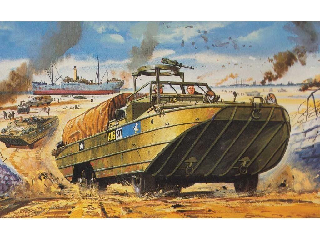 1/76 Plastikový model - Vintage military A02316V - DUKW