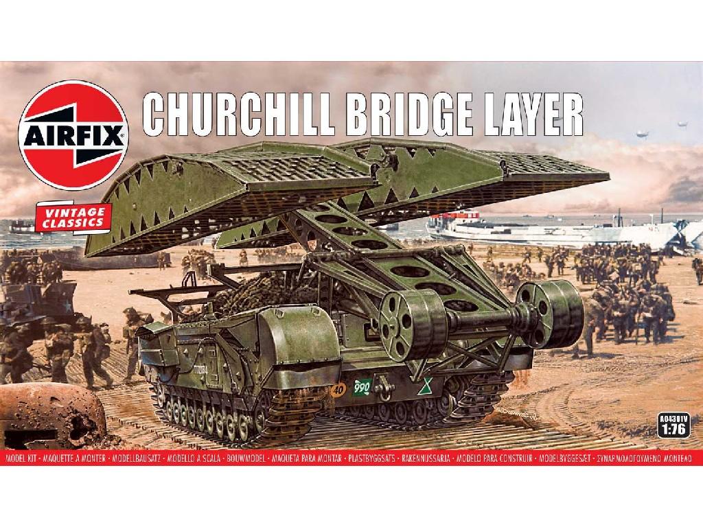 1/76 Plastikový model - military A04301V - Churchill Bridge Layer
