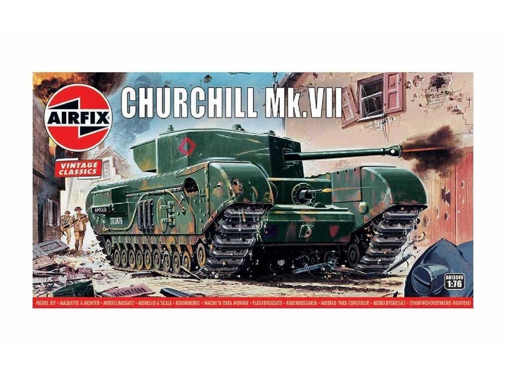 1/76 Plastikový model - Vintage tank A01304V - Churchill Mk.VII