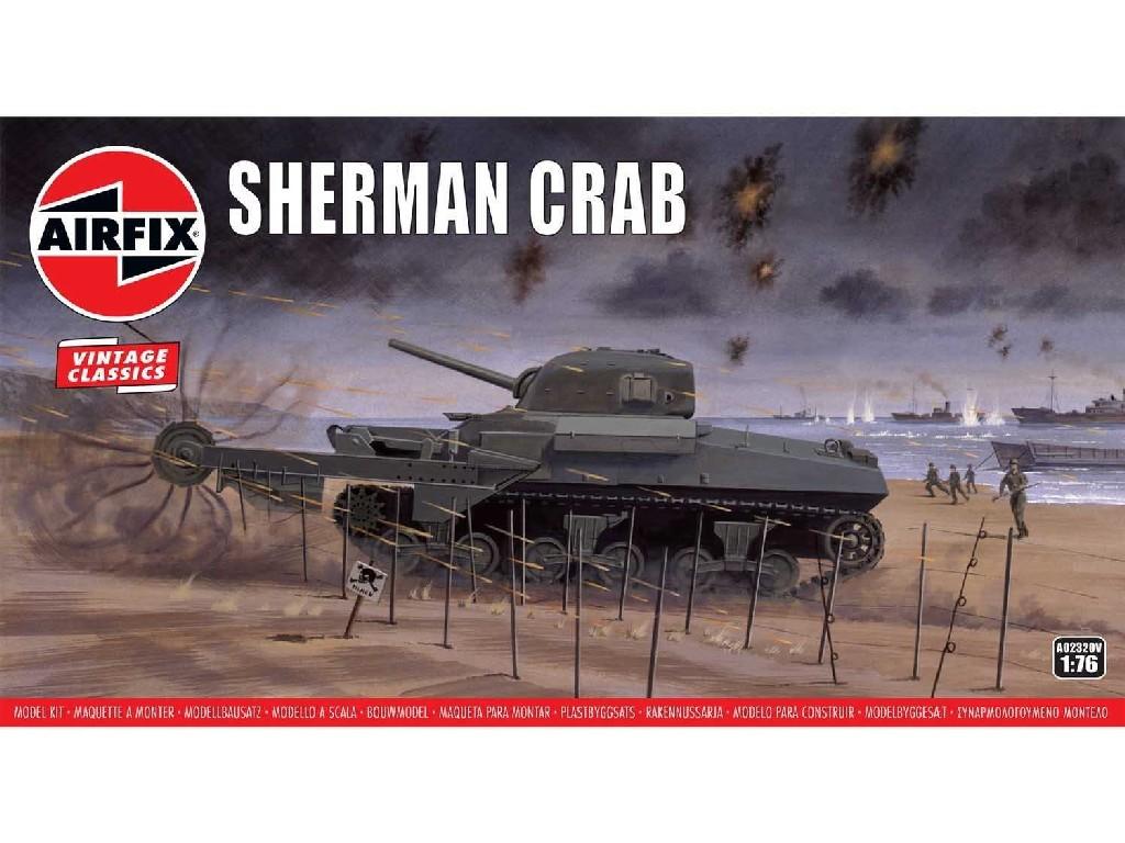 1/76 Plastikový model - Vintage tank A02320V - Sherman Crab