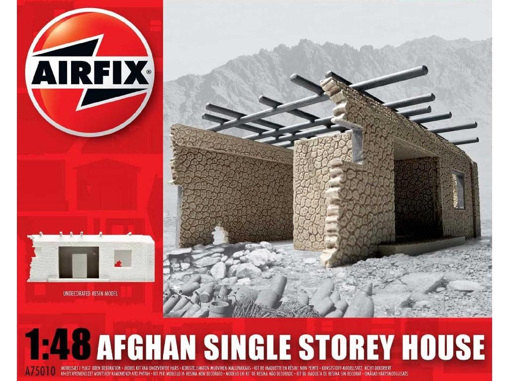 1/48 Classic Kit budova A75010 - Afghan Single Storey House