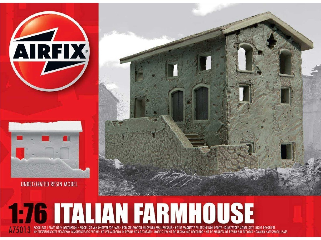1/76 Classic Kit budova A75013 - Italian Farmhouse