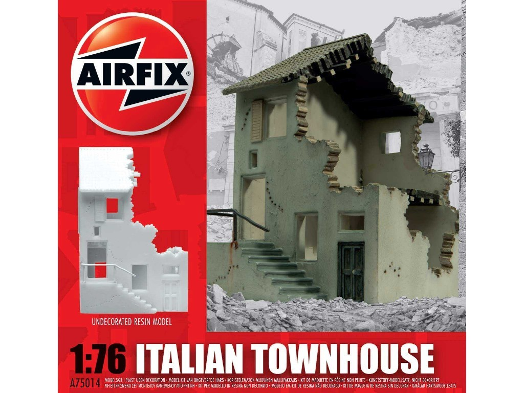 1/76 Classic Kit budova A75014 - Italian Townhouse