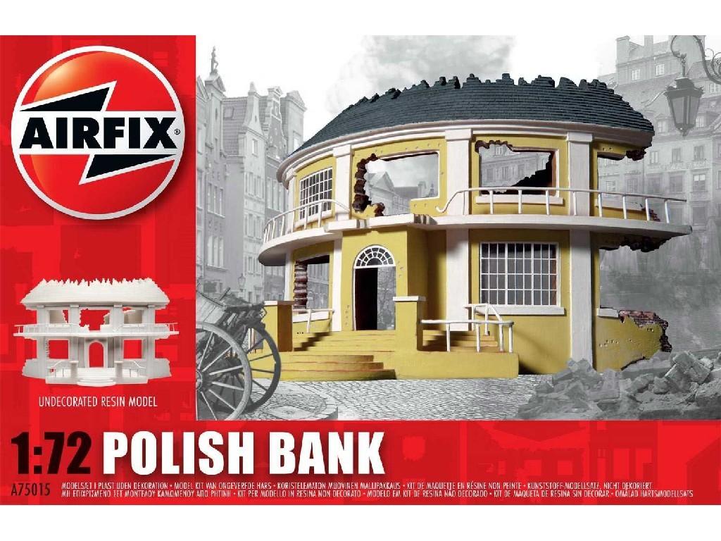 1/72 Classic Kit budova A75015 - Polish Bank