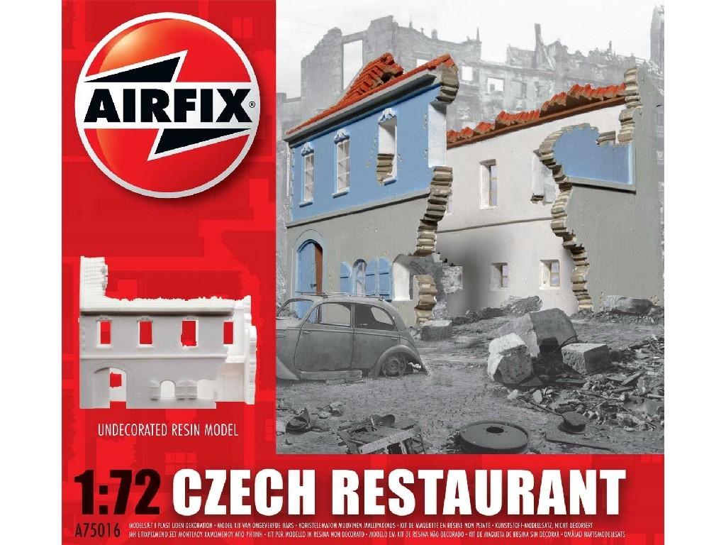1/72 Classic Kit budova A75016 - Czech Restaurant