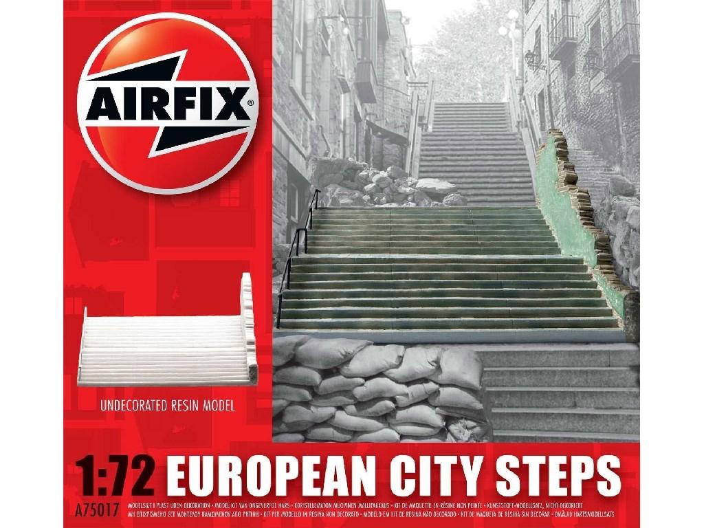 1/72 Classic Kit budova A75017 - European City Steps