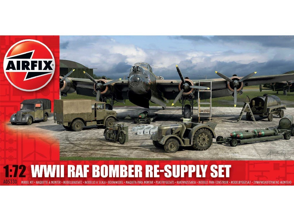 1/72 Classic Kit diorama A05330 - Bomber Re-supply Set