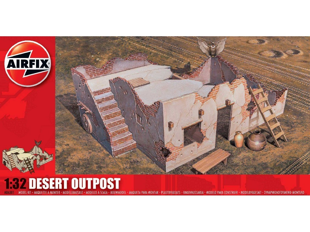 1/32 Classic Kit diorama A06381 - Desert Outpost