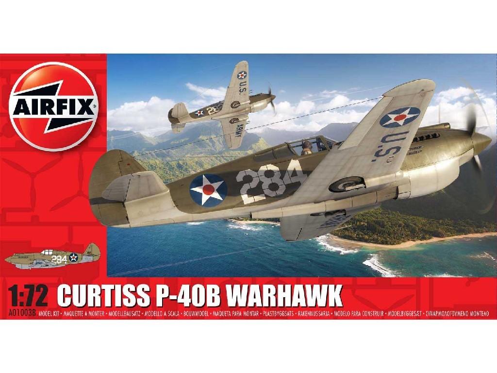 1/72 Classic Kit letadlo A01003B - Curtiss P-40B Warhawk