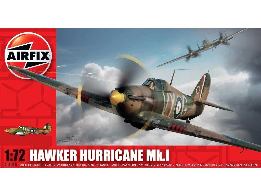 1/72 Plastikový model - lietadlo A01010 - Hawker Hurricane MK1