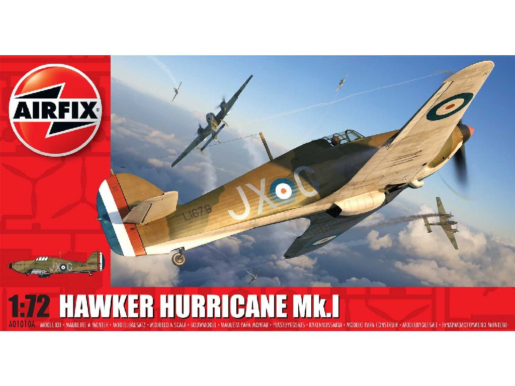 1/72 Classic Kit letadlo A01010A - Hawker Hurricane Mk.I