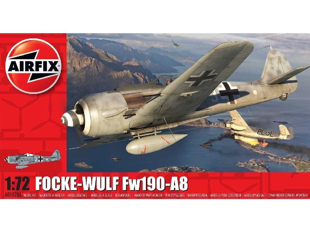 1/72 Plastikový model - lietadlo A01020A - Focke-Wulf FW190A-8