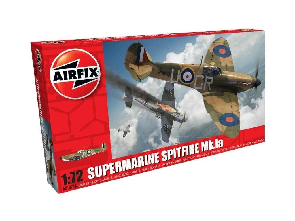 1/72 Plastikový model - lietadlo A01071B - Supermarine Spitfire Mk.Ia