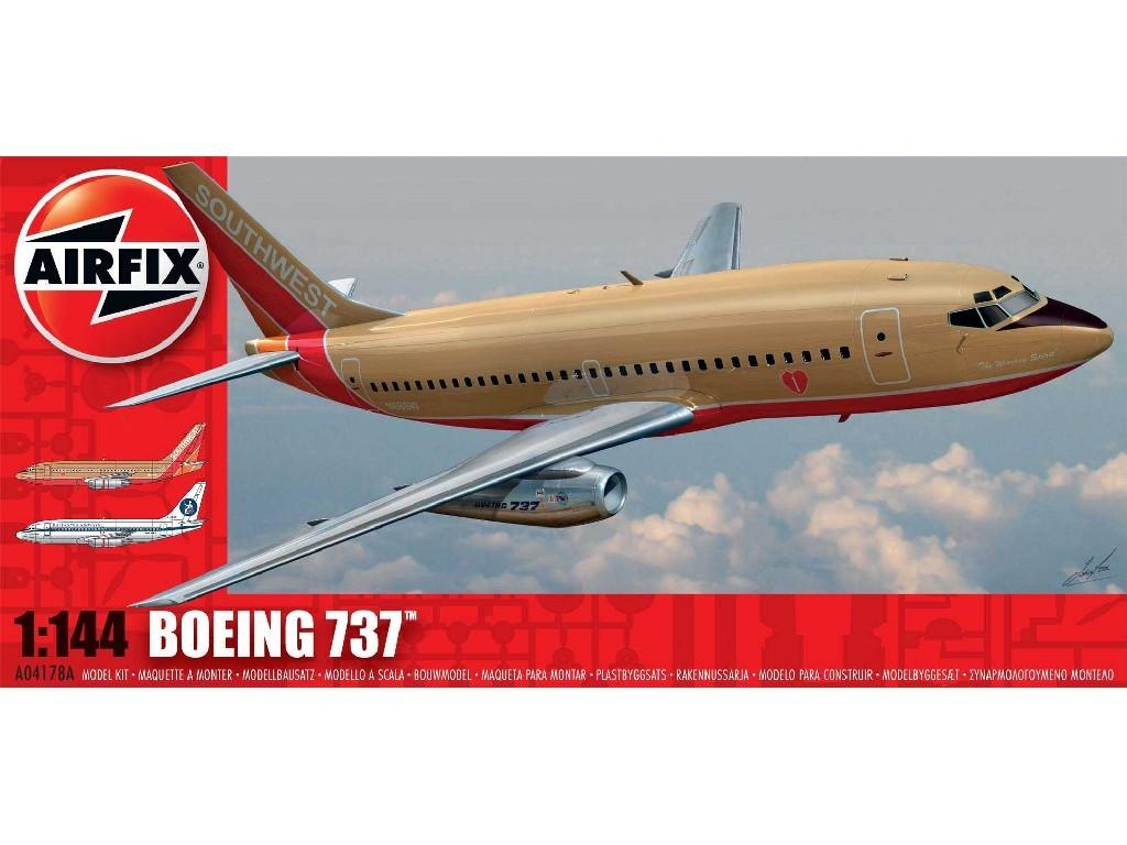 1/144 Plastikový model - letadlo A04178A - Boeing 737-100
