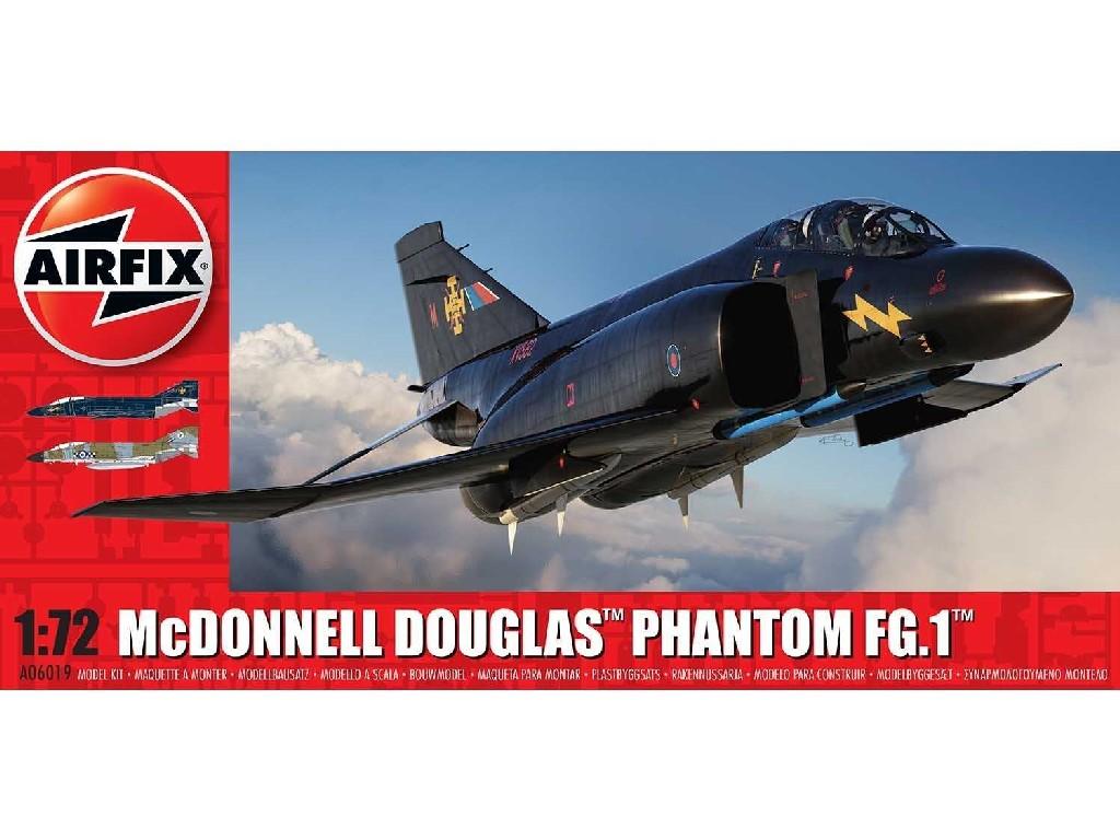 1/72 Plastikový model - letadlo A06019 - McDonnell Douglas FG.1 Phantom - RAF