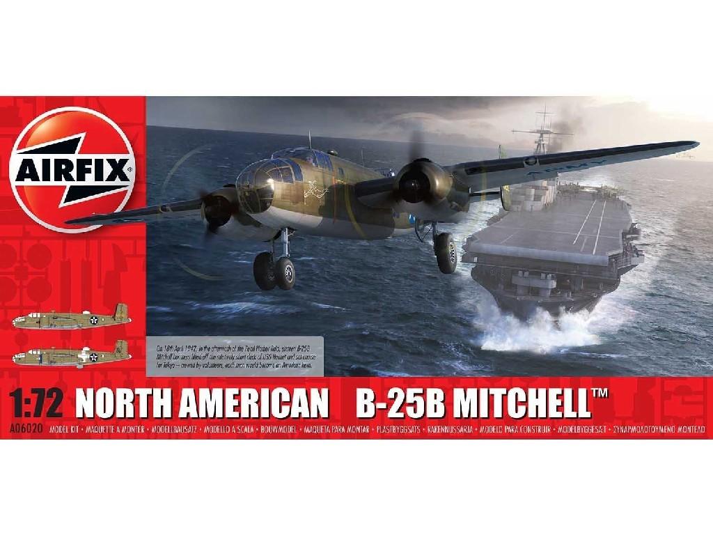 1/72 Plastikový model - letadlo A06020 - North American B25B Mitchell Doolittle Raid