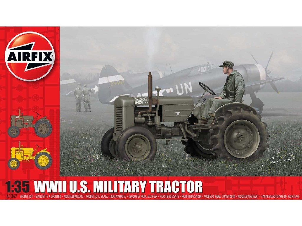 1/35 Classic Kit military A1367 - WWII U.S. Military Tractor
