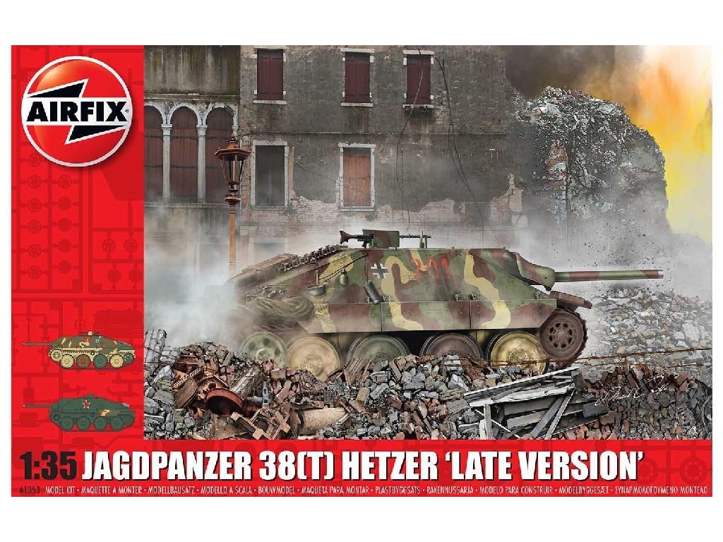 1/35 Plastikový model - tank A1353 - JagdPanzer 38 tonne Hetzer Late Version