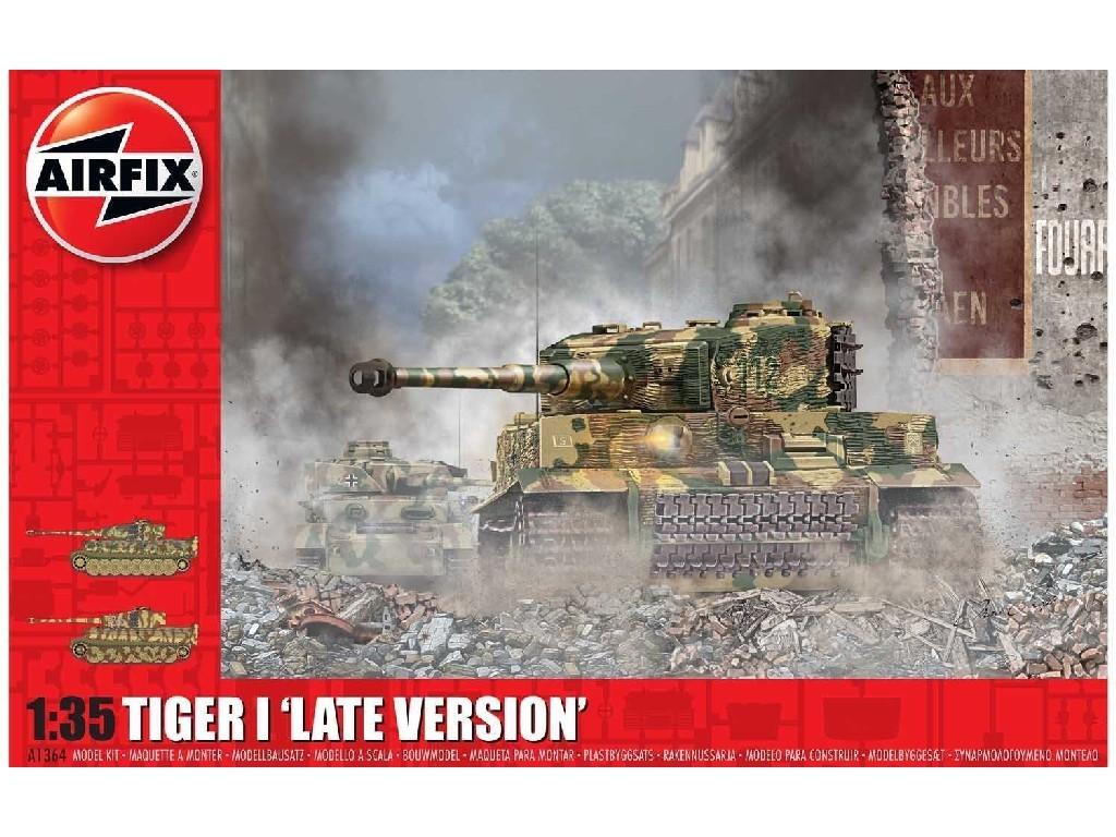 1/35 Plastikový model - tank A1364 - Tiger-1 Late Version