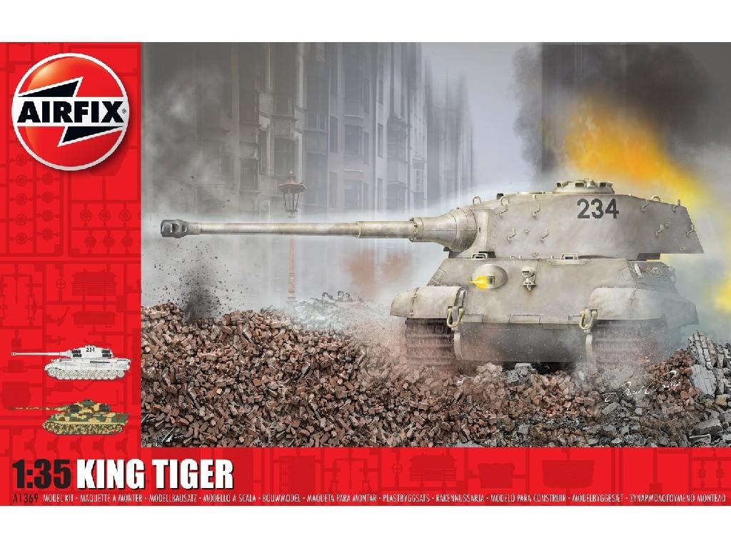 Airfix - A1369 - King Tiger 1:35